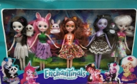 Кукла Enchantimals (5 героев)
