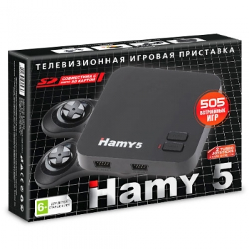 Приставка Sega-Dendy Hamy 5 505-in-1 Black
