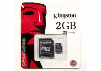 Карта SD 2GB Kingston